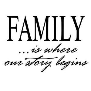 family whoever you want to call a family it s about love memories ...