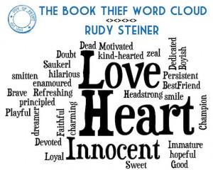 Rudy Steiner word cloud