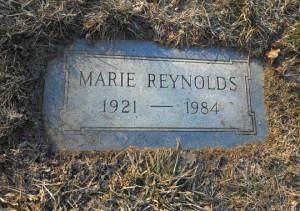 "Marie ""Caldonia"" Reynolds' headstone at Spring Grove Cemetery ..."