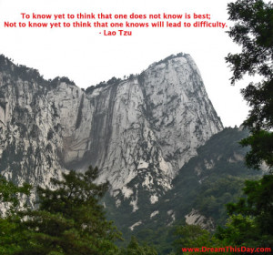 To know yet to think that one does not know is best;