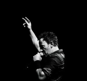 Springsteen wants his audience to leave the arena, as he commands them ...