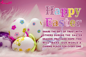 Happy Easter Wishes Quotes Pictures and Greetings