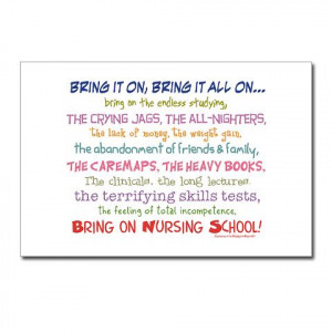 Nurse Sayings Postcards | Personalized Post Cards | Postcard Templates