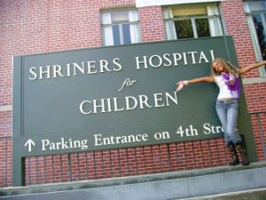 the hip hopper supports the hospital chain shriners hospitals for ...