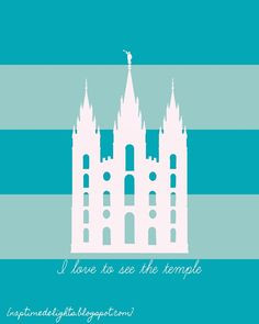... be fun in a kids bedroom, boys or girls. LDS/Mormon Temple Holy Places