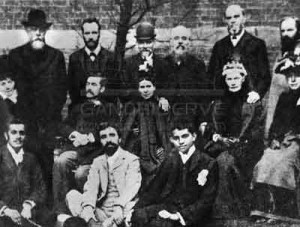 The Vegetarian Society's May Meetings, held at Portsmouth, in 1891.