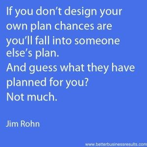 motivational quote about planning