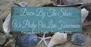 Wedding Decor Beach Coastal Nautical Shore by CarovaBeachCrafts, $45 ...