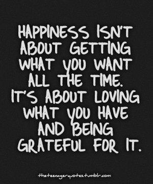 Be Grateful Quotes, Positive Happiness Quotes, Quotes Inspiration ...