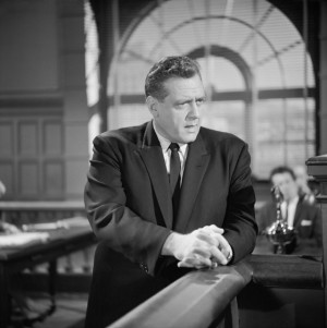 ... mason names raymond burr still of raymond burr in perry mason 1957