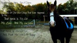 horse quotes love
