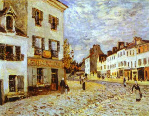 Market Place at Marly: 1876