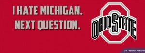 state football pictures for facebook | Osu Ohio State Hate Michigan ...