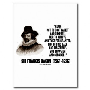 Sir Francis Bacon: