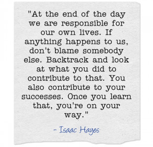 Isaac Hayes Quote