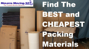 Packing Materials – Find The Best and Cheapest
