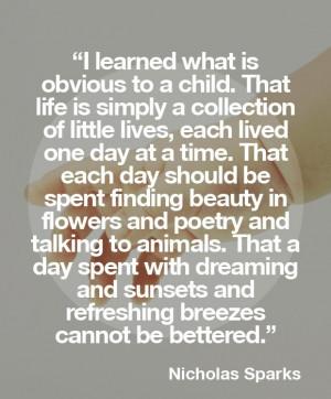 Love Quotes By Nicholas Sparks: Nicholas Sparks Nicholas Sparks Quotes ...