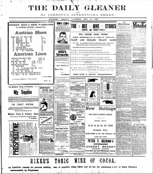 Newspaper Ads From 1920