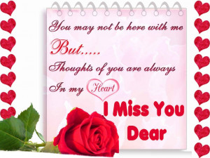 Miss You Quotes And Sayings For Her Hd Cute Short Love Poems ...