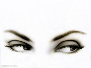 漂亮的眼睛大图 点击还原