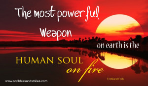 Soul On Fire Quotes