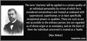 Quotes On Max Weber Bureaucracy