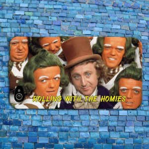 Funny Willy Wonka Quote iPhone Case