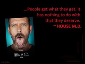 Humorous quotes from popular TV programs.