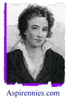 Percy Bysshe Shelley, Poets and Poetry at Aspirennies.com