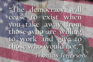 thomas jefferson accepted policies accumulatedr regulations debt ...