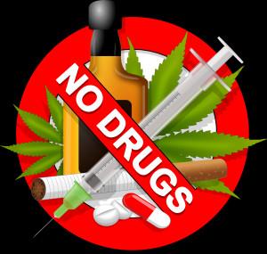 Anti-drugs Sign clip art