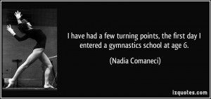 More Nadia Comaneci Quotes