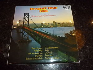 TENNESSEE ERNIE FORD I Left My Heart In San Francisco 1970s UK LP