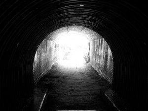was thinking about tunnels today as i left the jail because i d ...