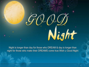 Good Night SMS Messages, Quotes About Night