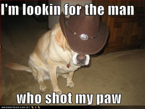 tired of all this emo talk. Let's talk about cowboys.