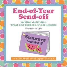 for engaging end-of-year activities! This activity includes a