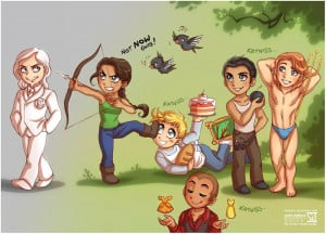The Hunger Games Cartoons