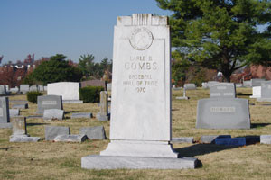 Earle Combs Grave Photo 2