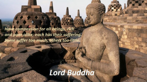 Compassionate People Quotes Buddha quotes about compassion