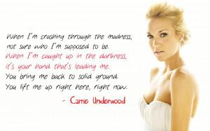 Carrie Underwood Quotes