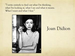 Joan didion on morality thesis