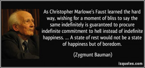 As Christopher Marlowe's Faust learned the hard way, wishing for a ...