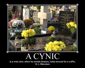 Would you rather be thought of as gullible or cynical?