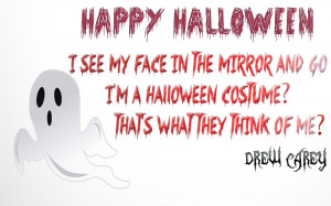 Drew Carey Halloween Quote