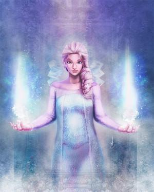 Queen Elsa From Frozen...