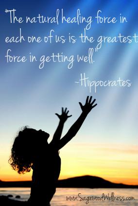 Health & Wellness Quotes - Natural Healing Force - Sagewood Wellness ...