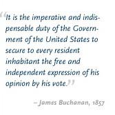 James Buchanan Quotes On Slavery
