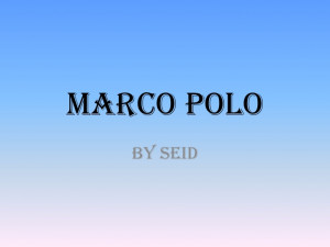 Marco Polo Famous Quotes