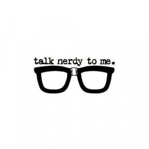 ... popular tags for this image include: nerd, glasses, nerdy and talk
